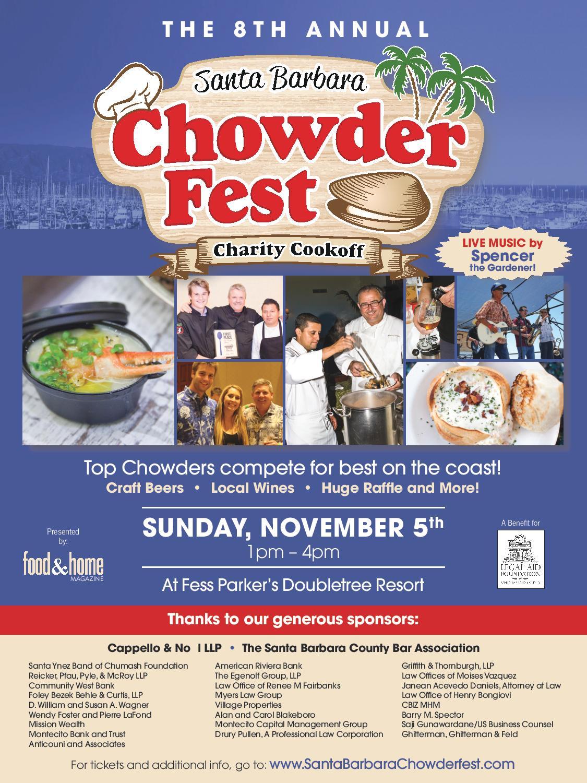 Chowder Fest Ad 2017